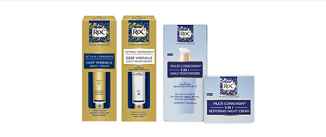 RoC® Anti-Aging Products coupon