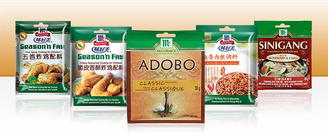 McCormick Authentic Asian Recipe Mixes coupon