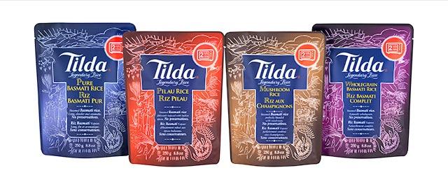 Tilda Steamed Basmati Rice coupon