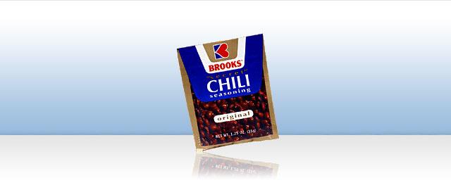 Brooks Chili Seasoning coupon