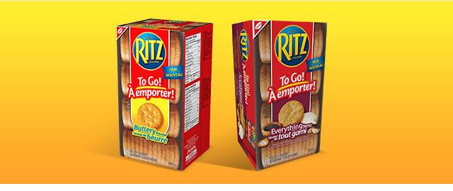 RITZ To Go! Crackers coupon