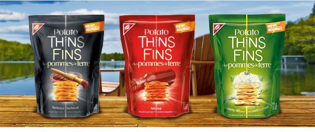 POTATO THINS Cracker Chips coupon
