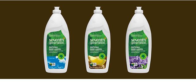 Seventh Generation natural dish liquid coupon