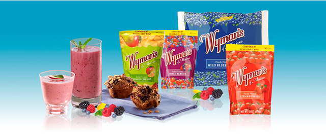 Wyman's of Maine frozen fruit coupon