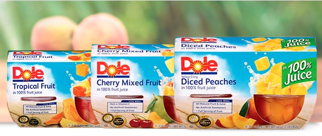 Dole fruit bowls coupon