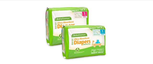 BabyGanics Rear Gear Diapers coupon