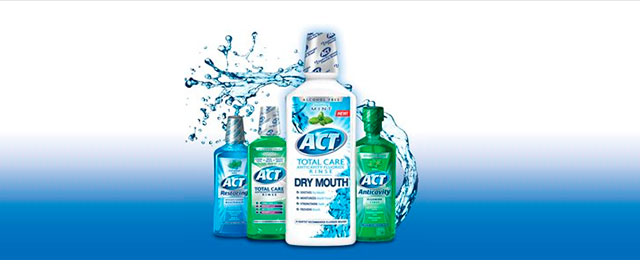 ACT mouthwashes and rinses coupon