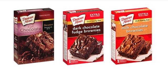 Duncan Hines brownie mix coupon