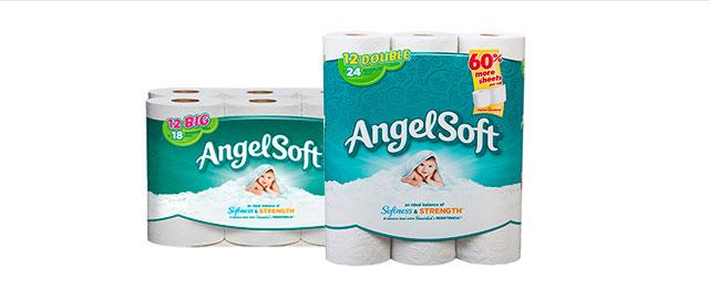 Angel Soft bath tissue coupon