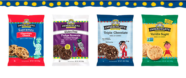 Immaculate Baking cookie dough coupon