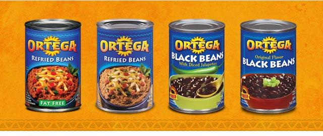 Ortega beans coupon