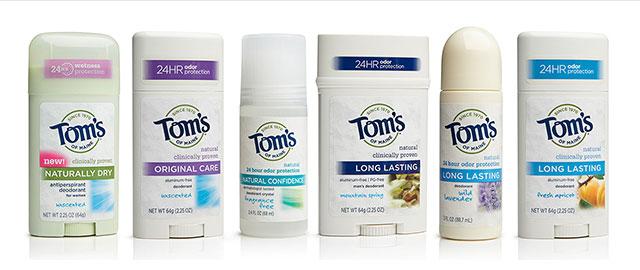 Tom's of Maine deodorant coupon