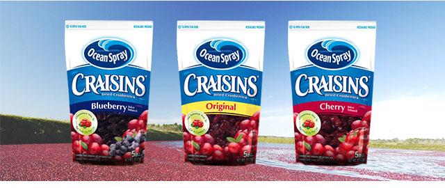 Ocean Spray Craisins coupon