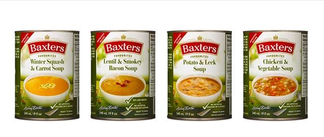 Baxters Soup coupon