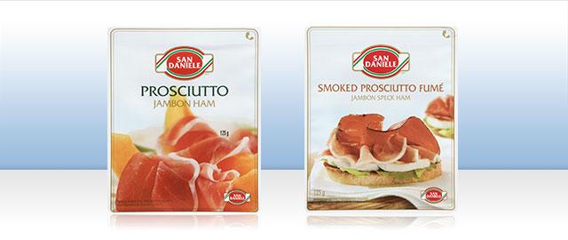 San Daniele sliced prosciutto  coupon
