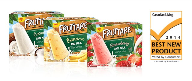 Fruttare Frozen Fruit Bars coupon