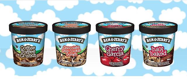 UNLOCKED! Ben & Jerry's ice cream coupon
