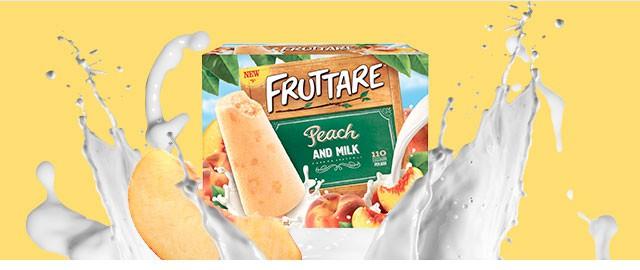 Fruttare Peach & Milk  coupon