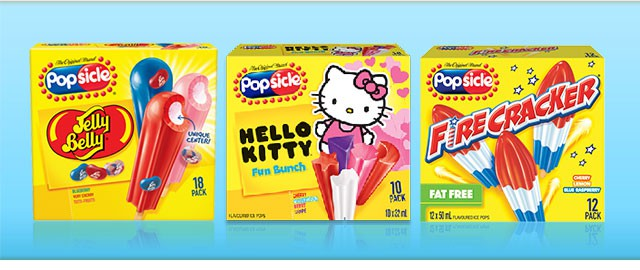 Popsicle® multipack coupon