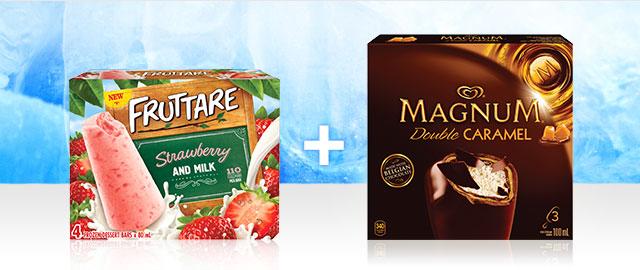 Combo: Magnum® + Fruttare Ice Cream Bars coupon