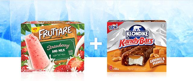 Combo: Klondike + Fruttare Ice Cream Bars coupon