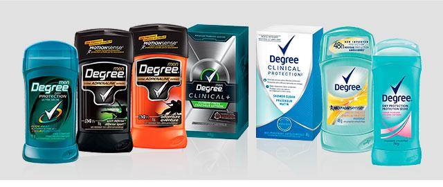 Buy 2: Degree Antiperspirant or Deodorant coupon