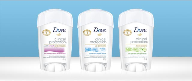 Dove Clinical Protection anti-perspirant coupon