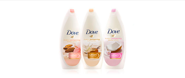 Dove Purely Pampering® body wash coupon