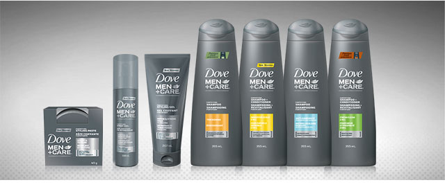 Buy 2: Dove Men+Care® hair care products coupon