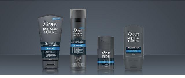Dove Men+Care® face care coupon