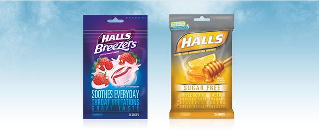 HALLS® Drops Bags coupon