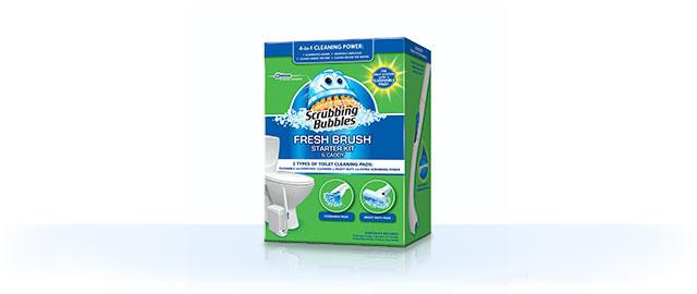 Scrubbing Bubbles® Fresh Brush® Starter Kit coupon