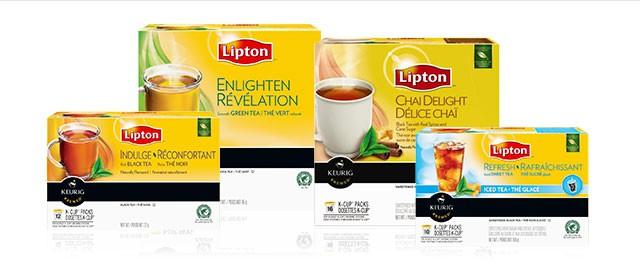 Lipton® K-Cup® packs coupon