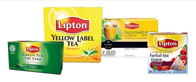 Lipton® tea coupon