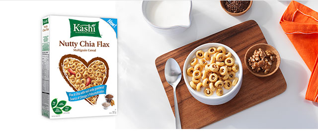 Kashi* Nutty Chia Flax Multigrain cereal coupon