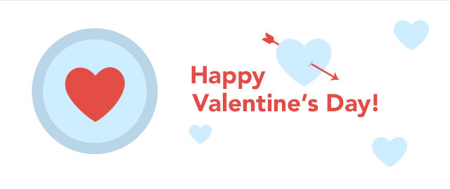 Happy V-Day! Show us how you're spreading love today coupon