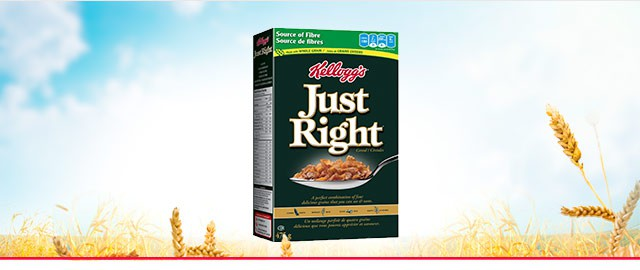 Just Right* cereal coupon