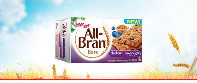 All-Bran* cereal bars Blueberry Brown Sugar  coupon