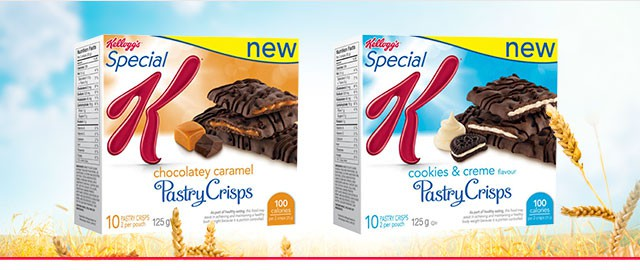 Select Special K* Pastry Crisps  coupon