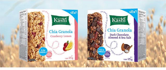 Kashi* Chia Granola bars coupon