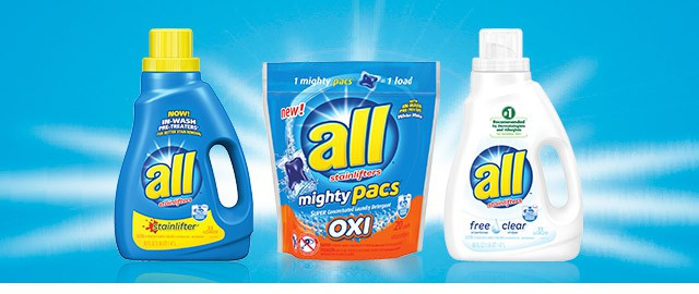 all® laundry detergent coupon