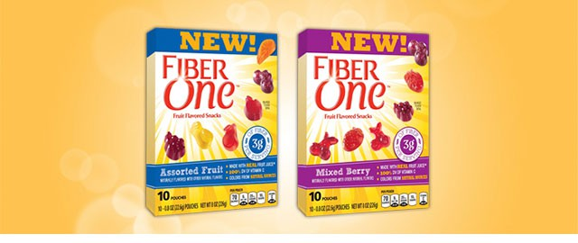 Fiber One™ Fruit Flavored Snacks coupon