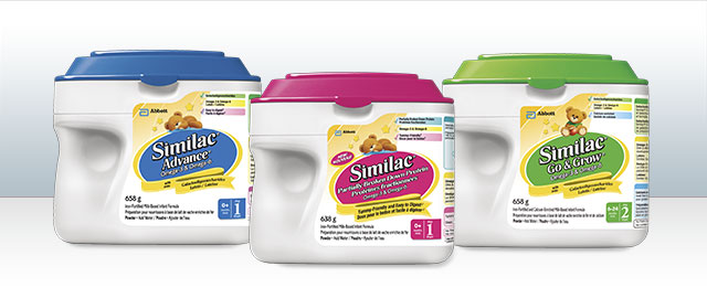 Select Similac® SimplePac products coupon