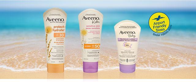 AVEENO® Sun Protection coupon