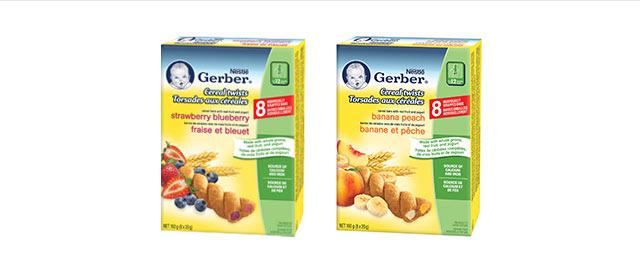 Gerber® Cereal Twists® coupon