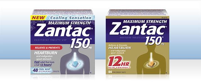 Select ZANTAC® products coupon