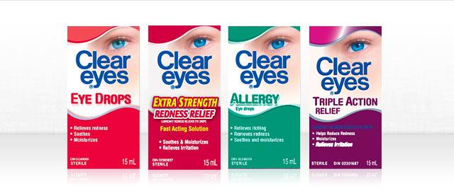 Clear Eyes® Eye Drops coupon